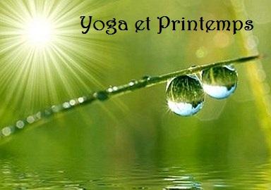Yoga et Printemps