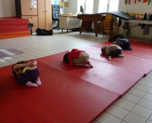 Yoga enfants Oise école Valdampierre