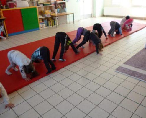 yoga enfants le pont